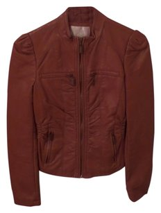 Mossimo Supply Co. brown Leather Jacket