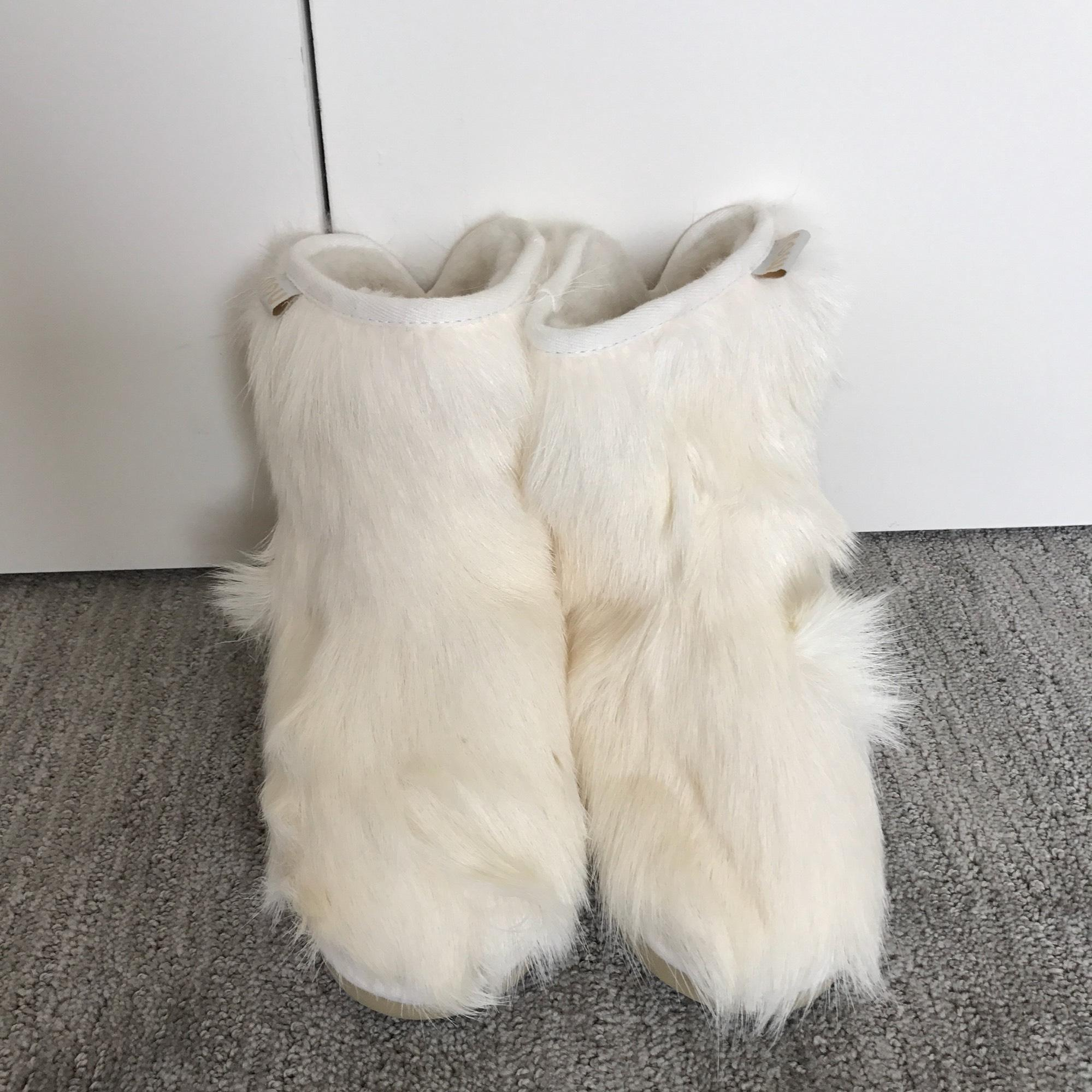 Ankle White Boots 16% Off #21909782