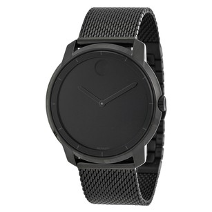 Movado Bold Black Dial Black Ion-plated Men's Watch MV3600261