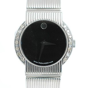 Movado Movado 84.g4.1842 Concerto Black Dial Swiss Quartz Bracelet Dress Womens Watch