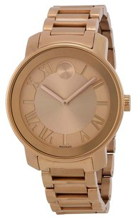 Movado Movado Bold Rose Dial Rose Gold-tone Unisex Watch