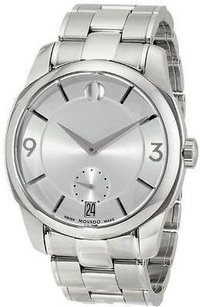 Movado Movado Lx Stainless Steel Mens Watch 0606627