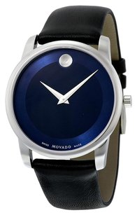 Movado MOVADO Museum Blue Dial Stainless Steel Men's Watch MV0606610