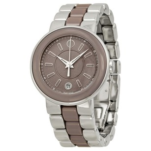 Movado Movado Stainless Steel and Ceramic Ladies Watch