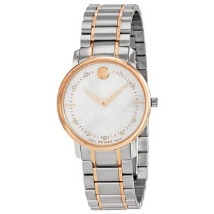 Movado Movado Two Tone Stainless Steel Ladies Watch