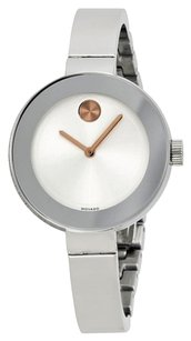 Movado Movado Women's Bold Silver Stainless-Steel Watch