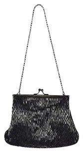 Moyna Womens Beaded Shoulder Bag