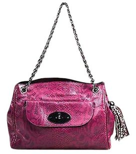 Mulberry English Plum Leather Tote in Purple