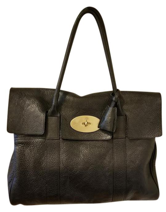 21c069232e ... spain mulberry leather pebbled satchel in black small classic grain  26646 c3ab1