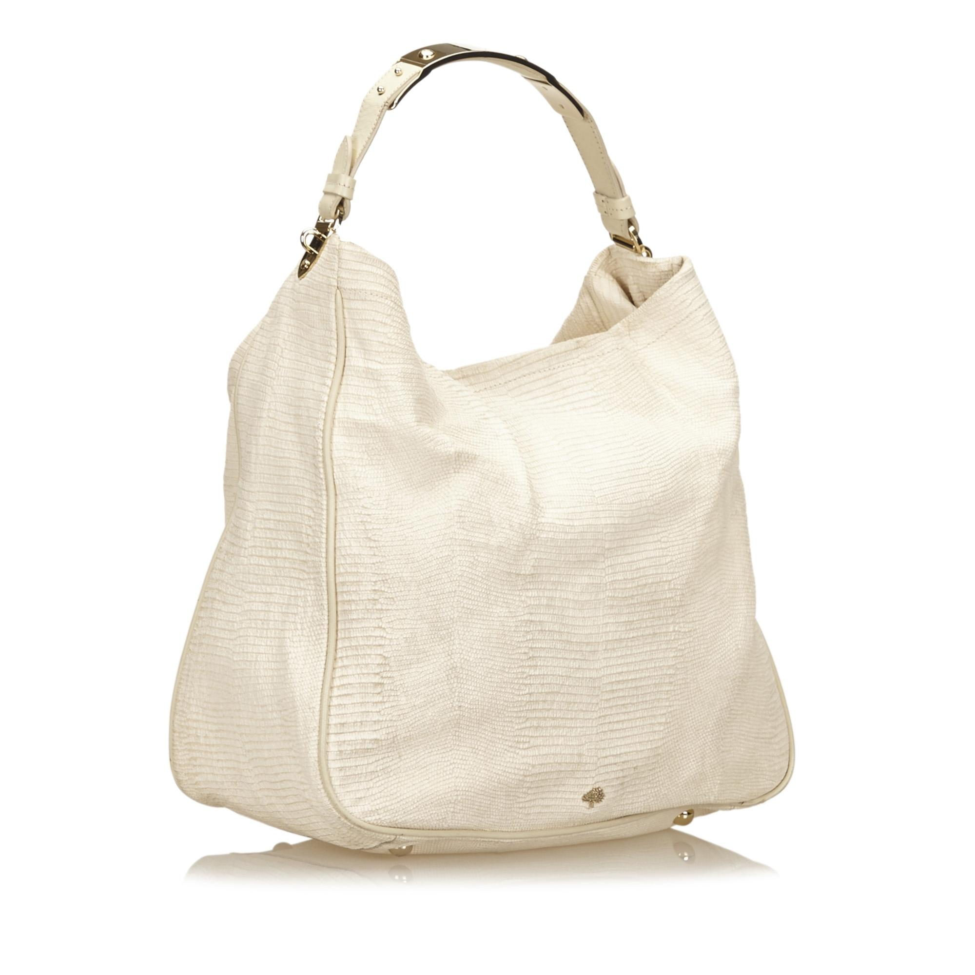 23e6ef2f94 ... australia mulberry evelina white leather hobo bag tradesy 88a43 5f4e2