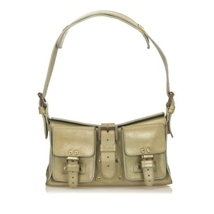 Mulberry Green Leather Others Shoulder Bag