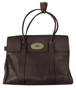 Mulberry Satchel in Grey