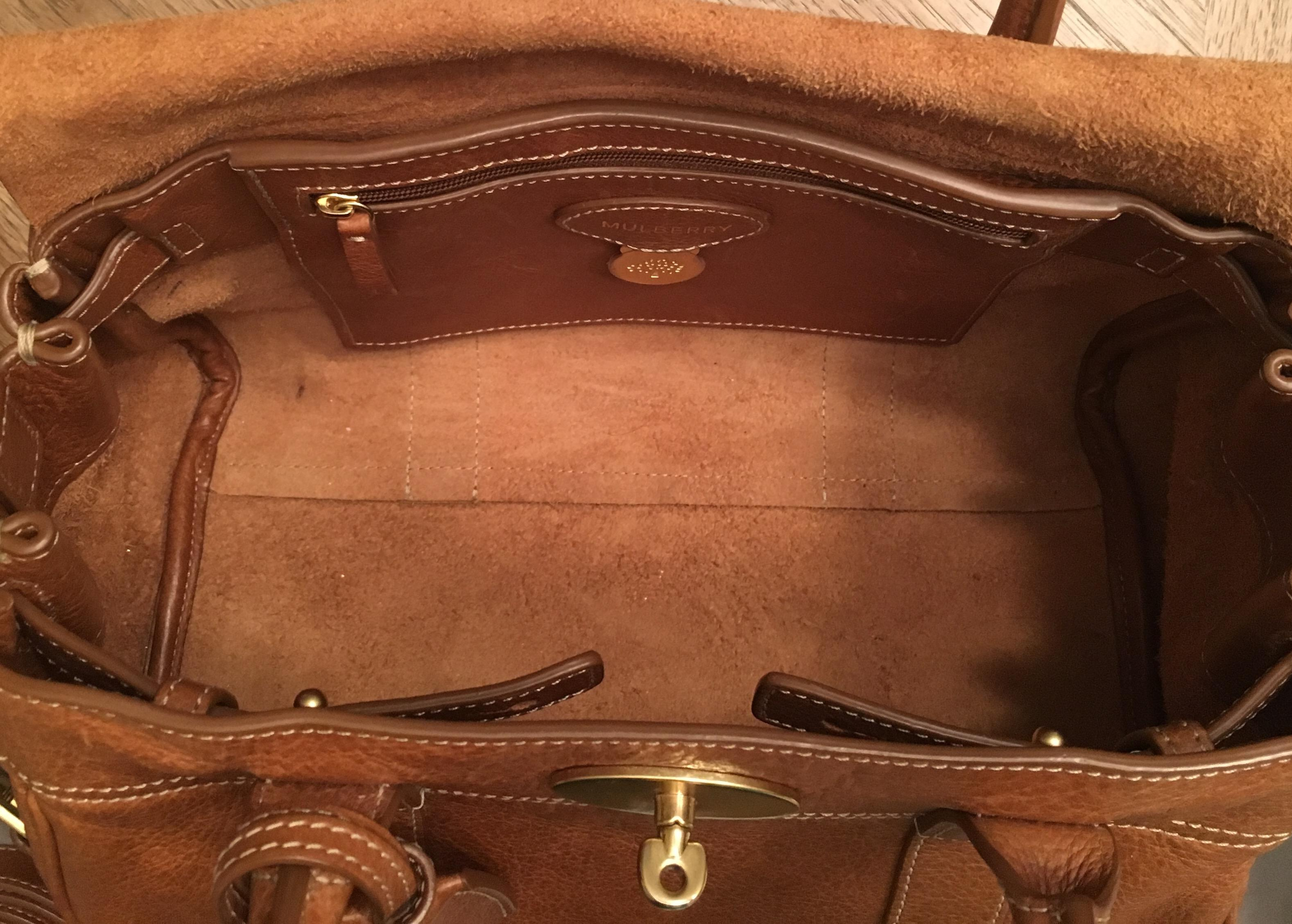 clearance mulberry small bayswater oak leather satchel tradesy 254d4 d7bb4 12103a272eaf4