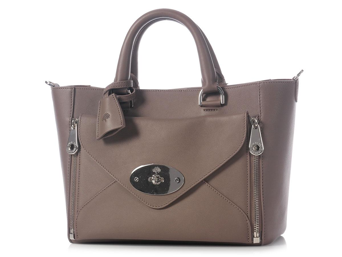 5d3f8fea6f ... cheapest mulberry sold on ebaymulberry small willow taupe leather tote  a0cea de902 ...