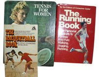 Tennis Racquetball Jogging track book set athletic sporty gift