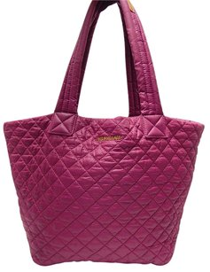 MZ Wallace Metro Light Tote in Berry