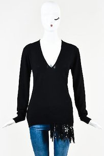 N21 21 Wool Knit Sequin Sweater