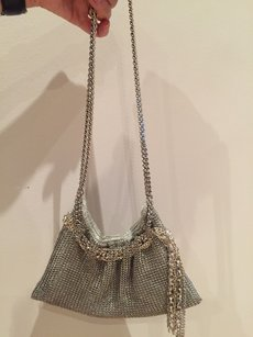 Nancy Bacich Silver Clutch