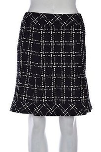Nanette Lepore Womens Skirt Black