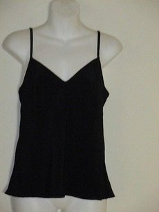 Nanette Lepore Empire Spaghetti Strap Top Black