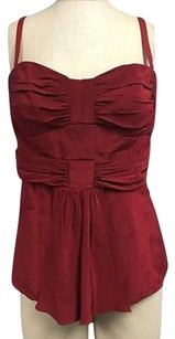 Nanette Lepore Silk Top Red