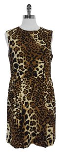 Nanette Lepore short dress Silk Leopard Print on Tradesy