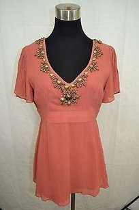 Nanette Lepore Top Dusty Pink