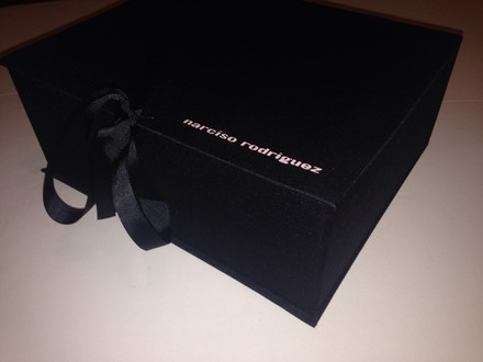 Narciso Rodriguez Narciso Rodriguez bow makeup storage accesories box