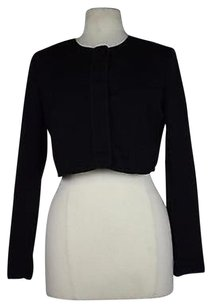 Narciso Rodriguez Narciso Rodriguez Woemns Black Solid Blazer Long Sleeve Polyester