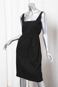 Narciso Rodriguez short dress Black Womens Classic Basic Cotton Empire Waist Shift on Tradesy