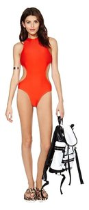 Nasty Gal Nasty Gal Body Electric Swimsuit- Red