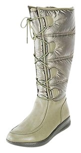 Naturalizer Womens Olive Boots