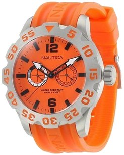Nautica Nautica Bfd Orange Mens Watch N16606g