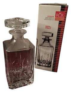 Neiman Marcus Crystal Decanter Whiskey Karaffe
