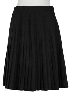 Neiman Marcus Womens Skirt Charcoal