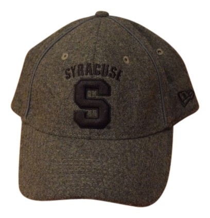 4a3a9767e5c85 ... store new era wooly gray fitted syracuse university baseball hat 24242  1cd88