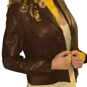 New still being sold Wilson leather coat Brown Leather Jacket