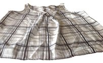 New York & Company Like Low Price Top Black and white plaid