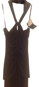 Nicole Miller Halter Evening Gown Flattering Dress
