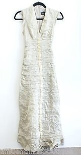 Gold Maxi Dress by Nicole Miller Collection