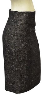Nicole Miller Blackgold Wool Skirt Multi-Color