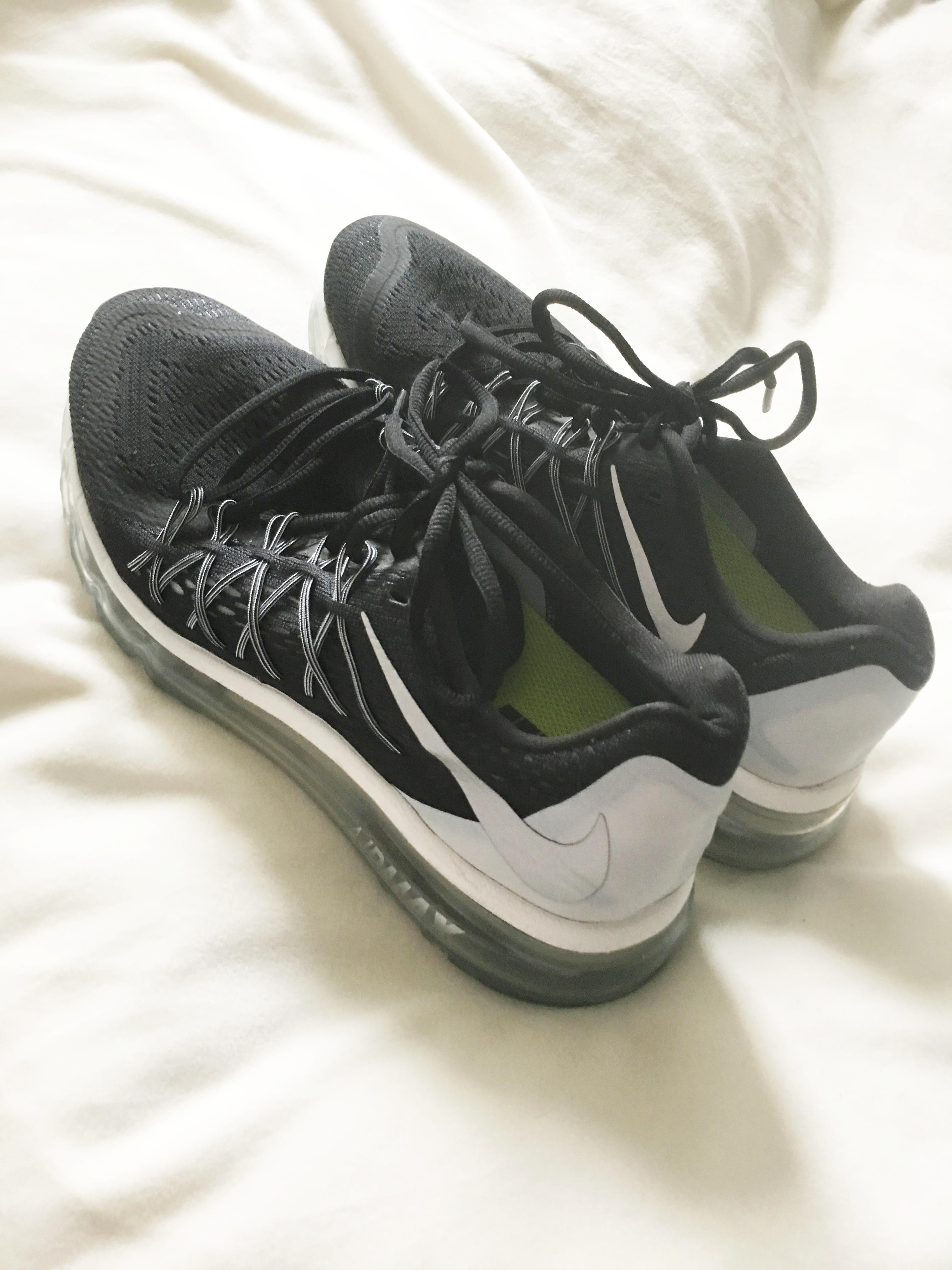 online store 33148 27694 Nike Air Max Running Neutral Ride 8 Soft Black Sneakers Sneakers Size US ...