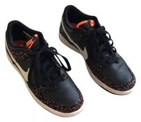 Nike Black/Brown/White/Orange Athletic