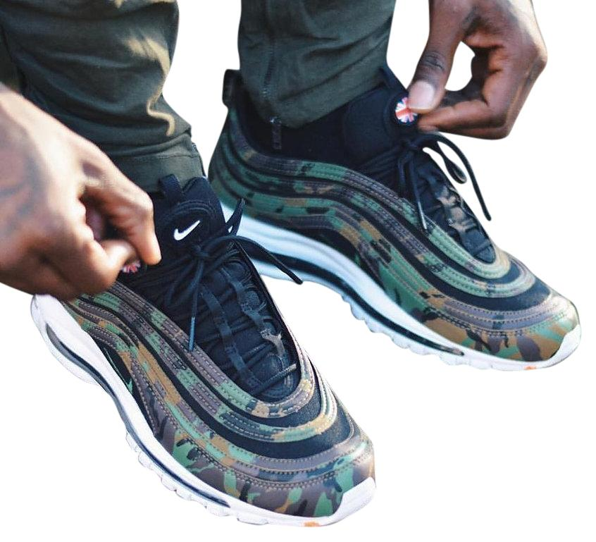 best sneakers b5e7d 7ee5d ... free shipping nike limited edition air max air max 97 high street camo  athletic 9dfab 5f411