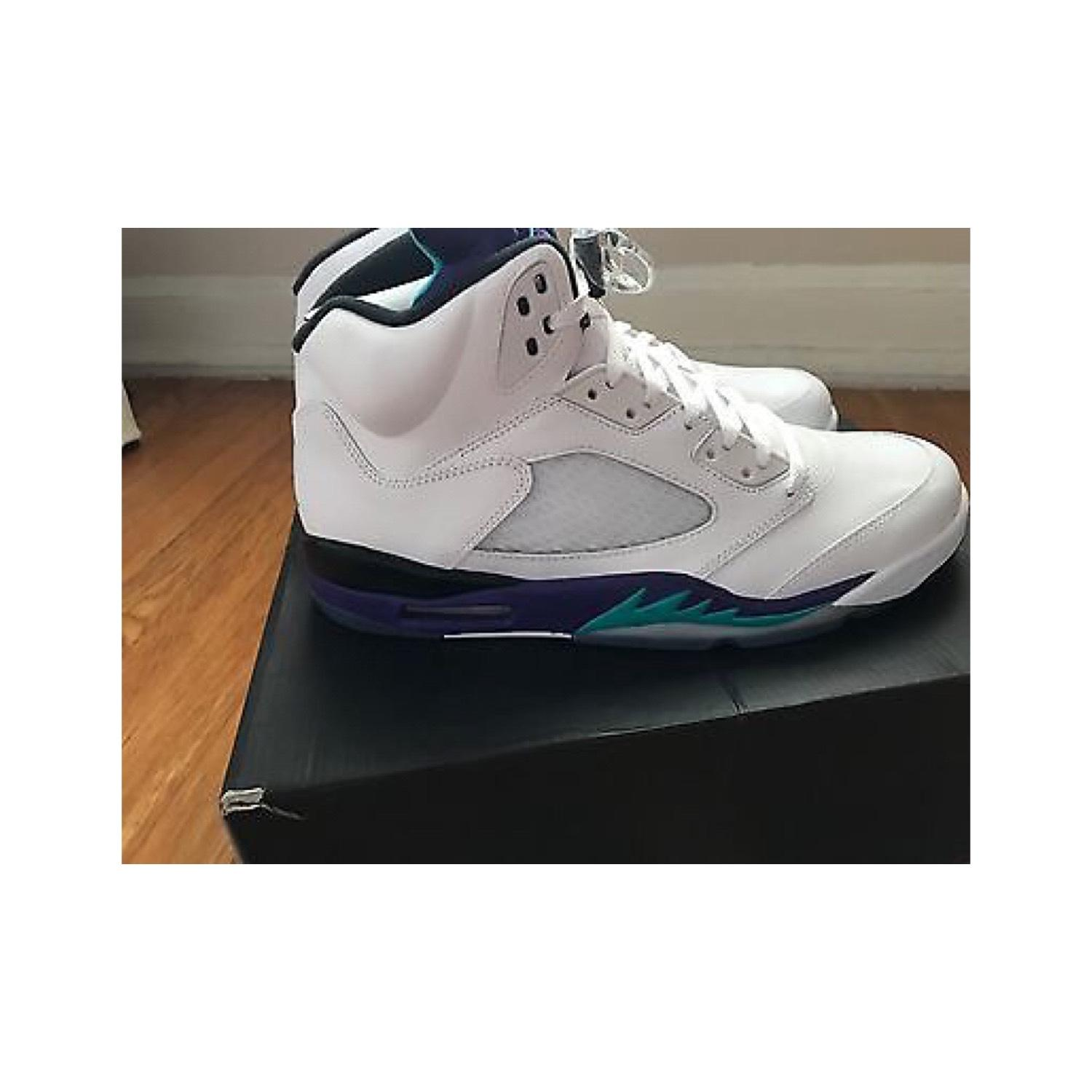 nike air jordan retro 5 raisin blanc les ds baskets taille 12 5 retro 7f4230