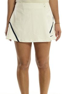 Nike Nike Dry Fit Classic White Wrap Tennis Skort Skirt Wbuilt-in Short 333386