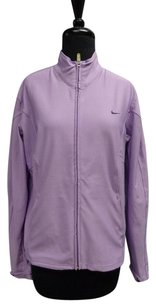 Nike Nike Long Sleeved Purple Full Zipper Polyester Blend Sma3770