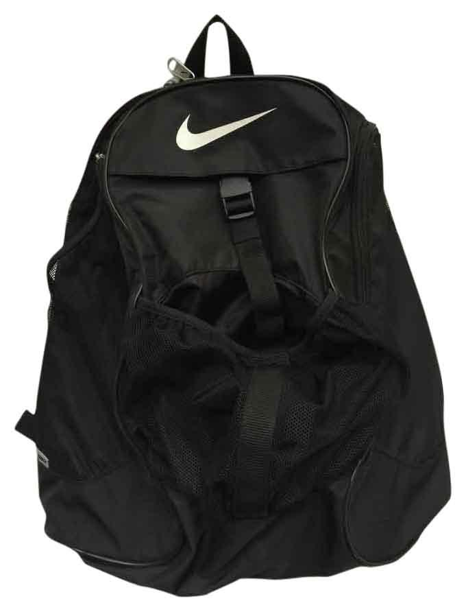Nike Shoe Pockets Ball Holder Nylon Earbud Cutout Backpack