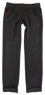 Nina Ricci 40 Basic Black Cuffed Oh Pants