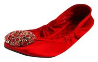 Nine West Womens red Flats